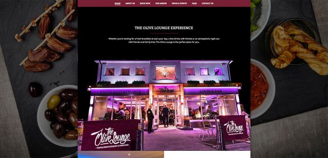 As a brand new, up market Tapas Restaurant & Bar in Wickersley, Rotherham, The Olive Lounge required an equally modern website to provide a range of information, from restaurant location, opening times, booking form to the general promotion of the company and the great atmosphere that you can experience.